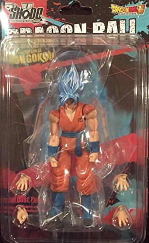 Bandai Shokugan Shodo Dragon Ball Z Super Saiyan God SS Son Gokou Action Figure