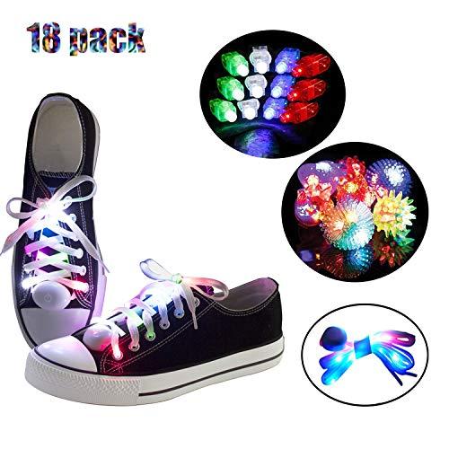 LKDEPO Led Light Up Shoelaces with 3 Flashing