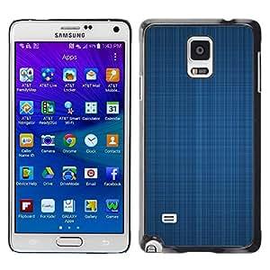 Smartphone Rígido Protección única Imagen Carcasa Funda Tapa Skin Case Para Samsung Galaxy Note 4 SM-N910F SM-N910K SM-N910C SM-N910W8 SM-N910U SM-N910 Simple Pattern 4 / STRONG