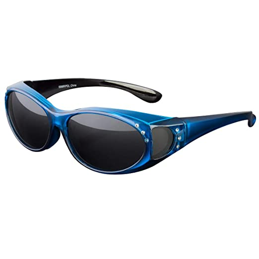 4f2389d8e30 Amazon.com  POLARIZED SOLAR SHIELD FIT OVER SUNGLASSES COVER ALL GLASSES  DRIVE FISH  Clothing