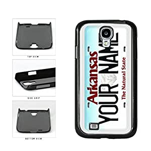 Personalized Custom Arkansas License Plate Plastic Phone Case Back Cover Samsung Galaxy S4 I9500