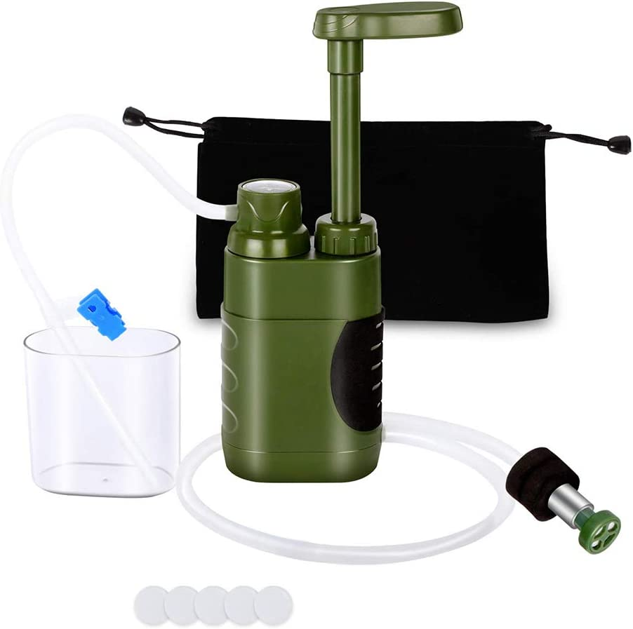 Lixada 5000L Filtration 0.01 Micron Pump Water Filter