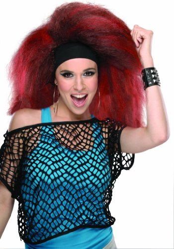 Rubie's Costume Rocking Wig, Red, One Size