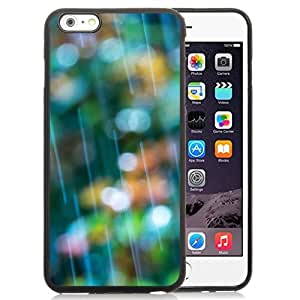 New Beautiful Custom Designed Cover Case For iPhone 6 Plus 5.5 Inch With Rain Bokeh Phone Case