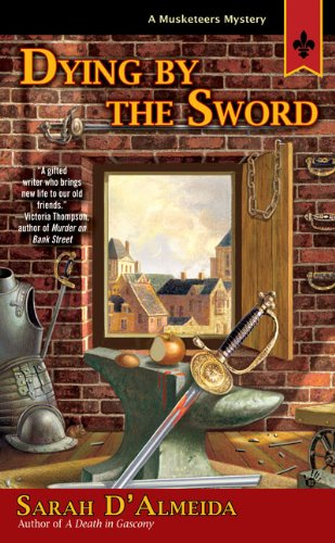 book cover of The Musketeer\'s Servant