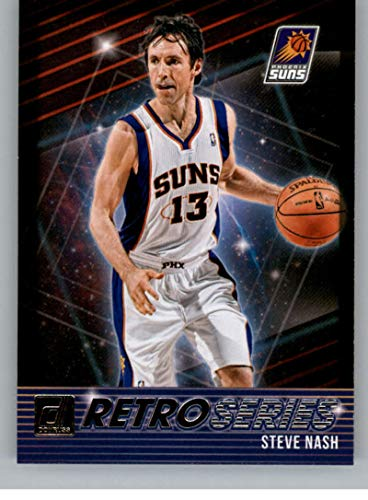 (2018-19 Donruss Retro Series Basketball Card #28 Steve Nash Phoenix Suns Official NBA Trading Card Produced By Panini)