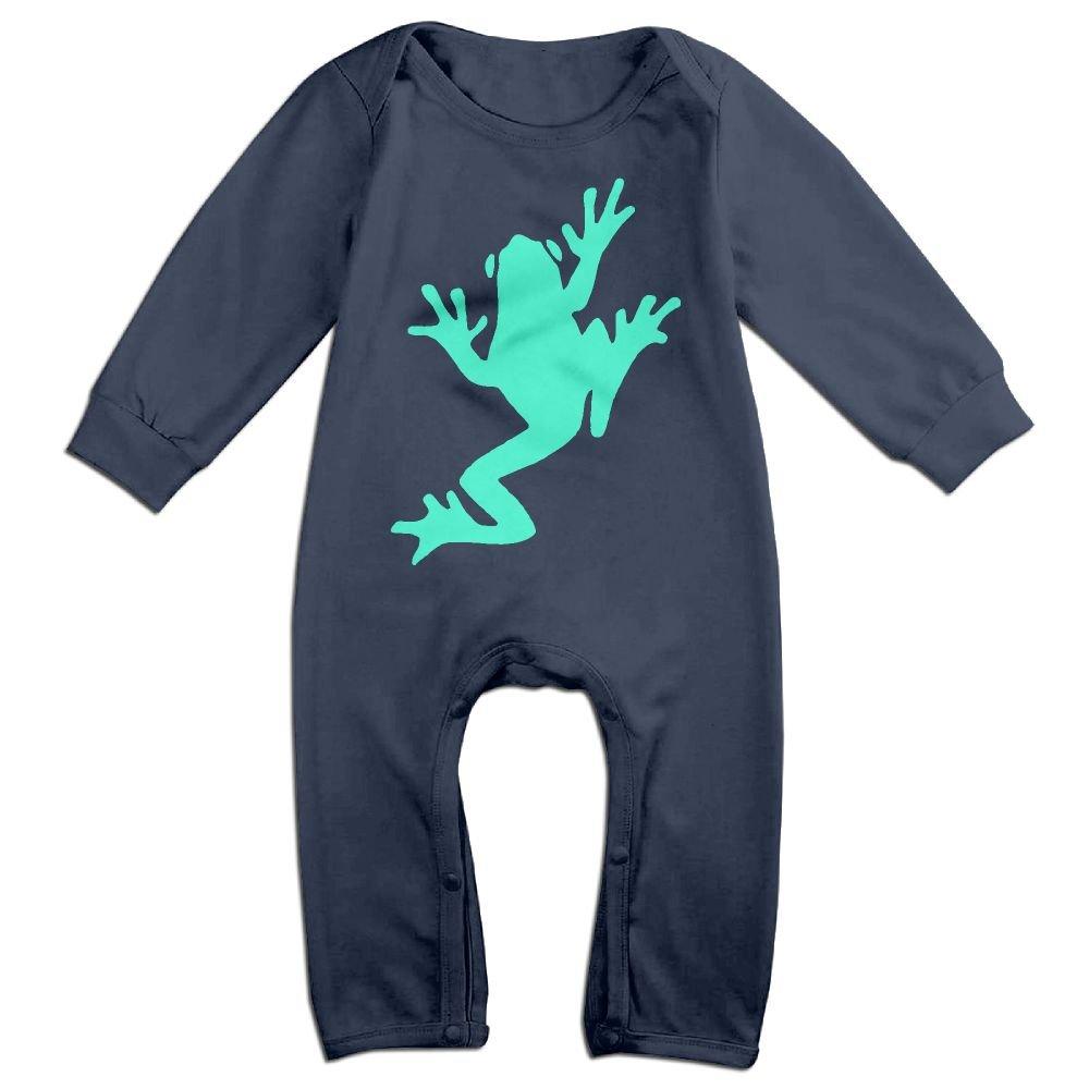 Mri-le1 Baby Boy Coverall Frog Cute Kid Pajamas