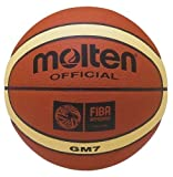 Molten BGM Basketball, Indoor/Outdoor, FIBA Approved