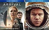 Arrival (Blu-ray + Digital HD) & The Martian (Blu-ray + Digital HD) 2-Blu-ray Bundle