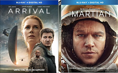 Arrival (Blu-ray + Digital HD) & The Martian (Blu-ray + Digital HD) 2-Blu-ray - Ahs Show Freak