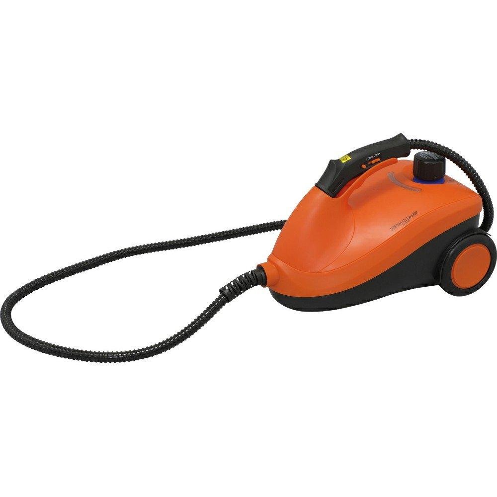 IRIS OHYAMA Steam Cleaner Canister Type STM-416-D (ORANGE)【Japan Domestic genuine products】