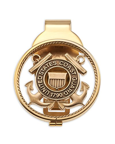 - The Difference World Coin Jewelry Coast Guard Money Clip,United States Coast Guard Gifts, (# CBCM)