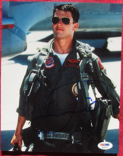 Tom Cruise Signed 8x10 Photo Top Gun PSA/DNA Certification