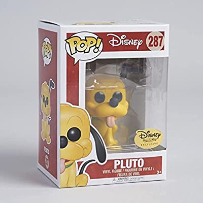 POP Funko Disney Treasure Exclusive Pluto with sticker: Toys & Games