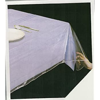 Perfect Home Décor 60 X 108 Inch. Tablecloth Protector, Oblong