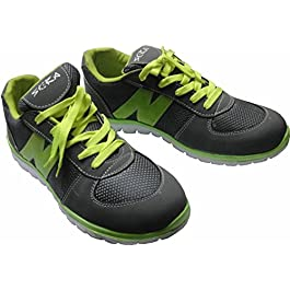 Skera Men's Zig Sneak (6UK/India  (39EU), Grey & Green)