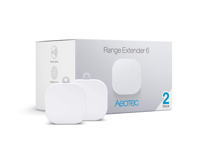 Aeotec Range Extender 6, Z-Wave Plus Repeater, 2 Pack by Aeotec