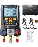 Testo 0563 1550 Digital Manifold Kit, Bluetooth Supported
