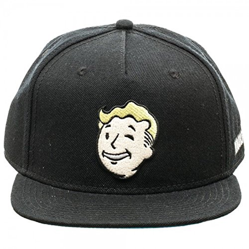 Fallout 4 Vault Boy Embroidered Baseball Cap Costume Hat (Boys Baseball Costumes)