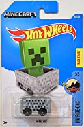 MINECRAFT Hot Wheels 2016 HW Ride-Ons Series #5/5 TRACK STARS 1:64 Scale Collectible Die Cast Metal Toy Car Model #70/250 on International Card