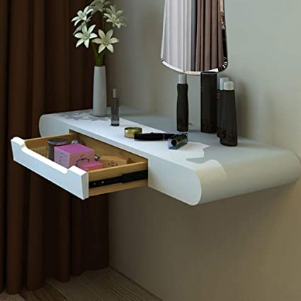 Amazon.com: Wall-Mounted Makeup Cabinet Dressing Table ...