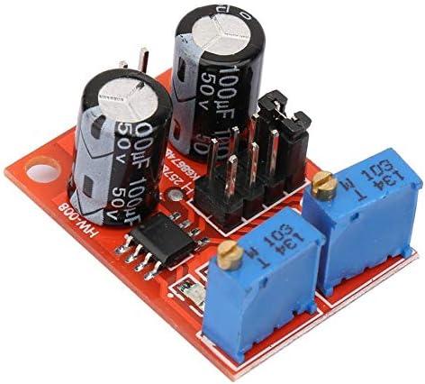 Sufan 5Pcs NE555 Einstellbare Frequenz Impuls Modul Platz Signal Generator 5V-15VDC Pulse-Modul Neu