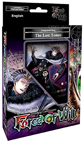 (Force of Will THE LOST TOMES FOW R02 Reiya Starter Deck TCG Card Game - 51 cards)