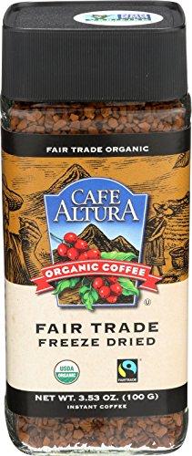 Cafe Altura Organic Fair Trade Instant Coffee, 3.53 oz