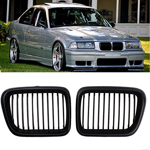 E36 Grill - Heart Horse Kidney Front Grilles Grill For BMW E36 3 Series 318 320 323 328 M3 1997-1999