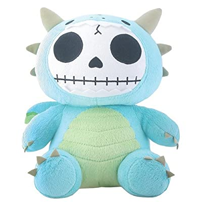 SUMMIT COLLECTION Furrybones Teal Dragon Scorchie with Wings Plush Doll: Home & Kitchen