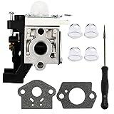 Dalom RB-K93 Carburetor w Carb Adjustment Tool for Echo SRM 225 GT225 PE225 PAS225 SHC225 SRM225 SRM225i SRM225U SRM225SB GT225i GT225L Trimmer Brushcutter
