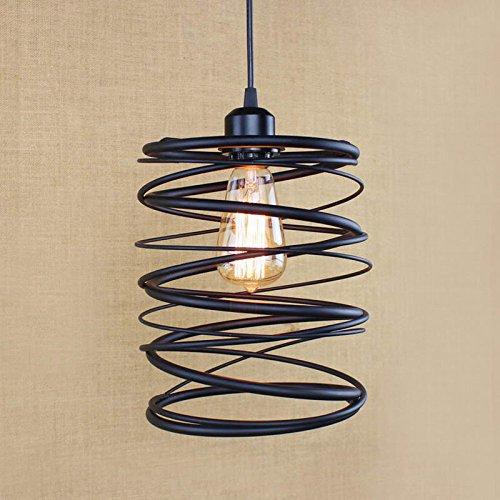 Iluminación interior Restoration Hardware Loft Norte de Europa american vintage retro lámpara colgante para la...