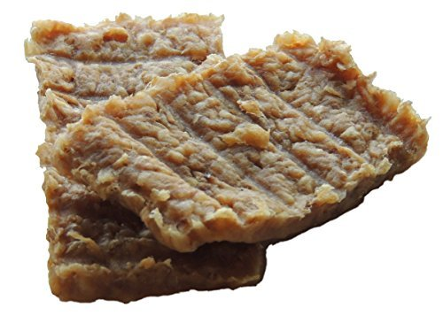 Image of Wholesome Hide - Rawhide Jerky Bars - Made with Real Chicken - 4 Bars - Good for Training OR Every day Treats