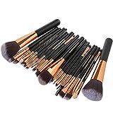 22Pc Makeup Brushes Set Powder Foundation Eyeshadow Eyeliner Lip...