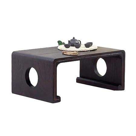 Muebles y Accesorios de jardín Mesas Balcón de Madera de café bajo ...