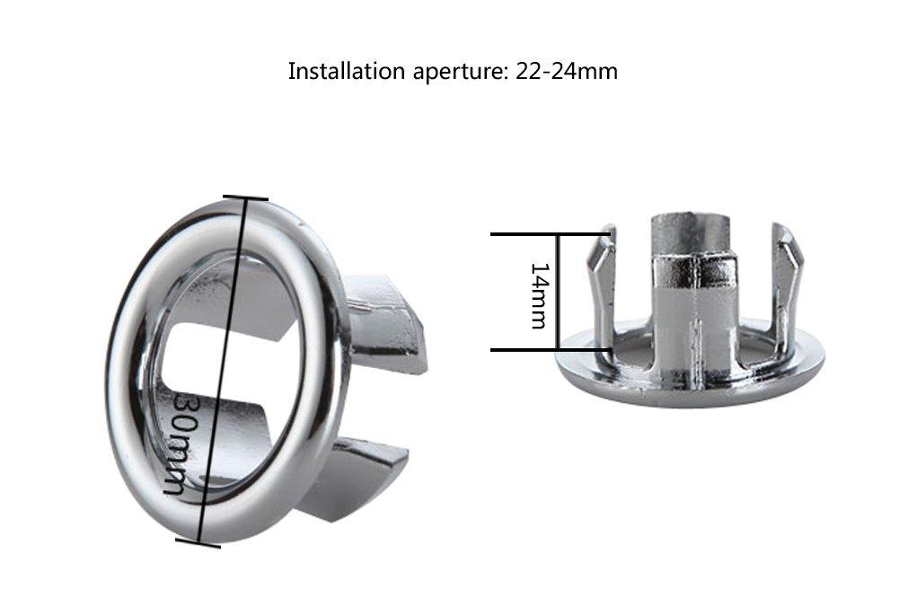 Tapón para baño, cocina, lavabo. Insertar las piezas de repuesto: Amazon.es: Bricolaje y herramientas