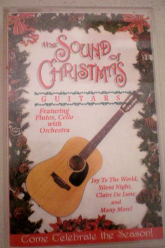 The Sound of Christmas Guitars Featuring Flutes, Cello with Orchestra -- Joy To The World, Silent Night, Claire De Lune and Many More! -- Come Celebrate the Season! created by Stephen Elkins -- Audio Cassette of Christmas Music (Silent Cello Night)