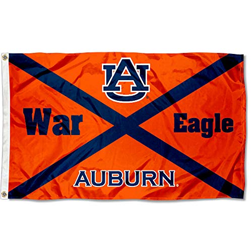 College Flags and Banners Co. Auburn Tigers AL State Design Flag