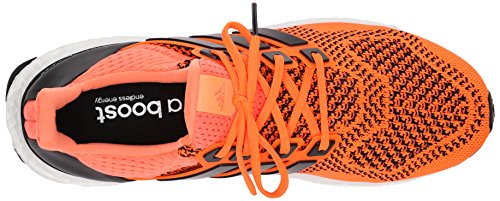 Adidas Performance Boost Ultra zapatos corrientes de Primeknit Negro púrpura 2015 (7,5) Solar Orange/Black/Solar Yellow