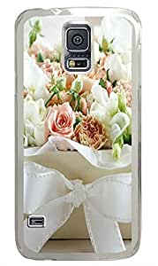 Samsung S5 cases the best Flower Box PC Transparent Custom Samsung Galaxy S5 Case Cover