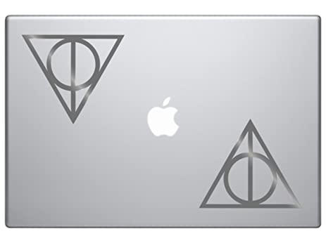 Amazon Deathly Hallows Harry Potter 2 Stickers Of 4 Die Cut