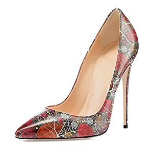 Soireelady Scarpe col Tacco Donna,Scarpe da Donna Eleganti,Scarpe Chiuse Donna 20 spesavip