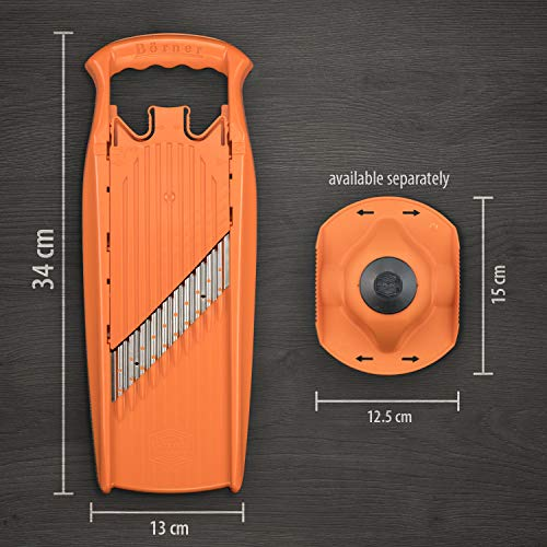 BORNER Wave-Waffle Cutter Powerline - Straight from The Manufacturer (Orange)