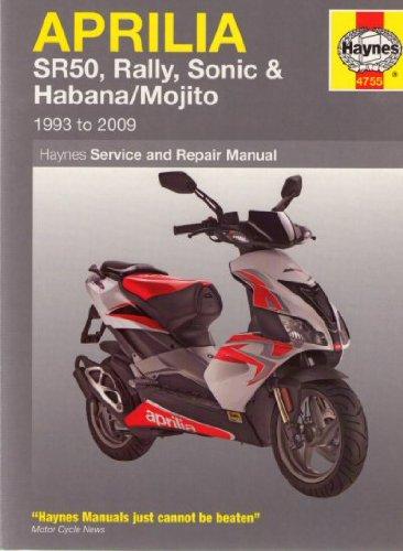Aprilia Scooter - Aprilia Scooter Haynes Repair Manual