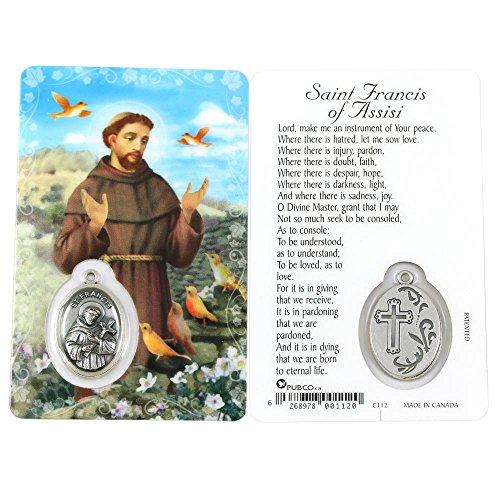 Saint Francis, Prayer Card