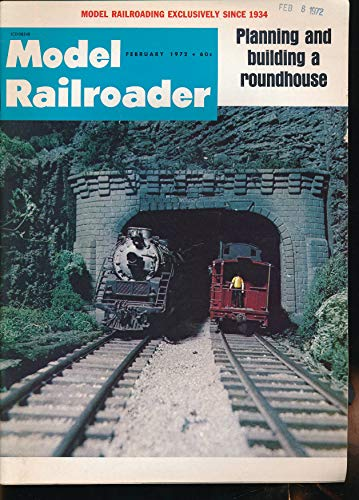 Model Railroader : Kaw Valley Traction Layout ; Gil Stoviecek's American Central Road ; Carl A. Lundquist Lake City Depot ; Kunzelmann Builds a Roundhouse; Planning a - Model Roundhouse Railroad