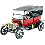 1915 Ford Model T Soft Top Red 1/18 by Motorcity Classics 88133