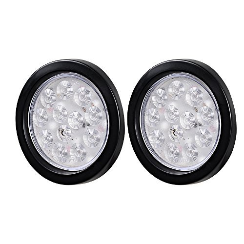 4 Inch Round Clear Led Lights in US - 8