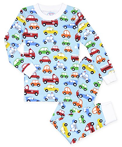 Saras Prints Kids All Cotton Long John Pajamas