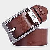 dnuxlou Leather Belt For Men